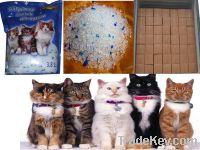 All kinds of silica gel cat litter