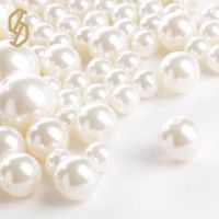 Factory Supply Plastic Pearl Round Beads Wedding DIY Colorful Jewelry Accessories Wholesale Plastic Beads