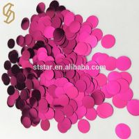 Colorful Custom Christmas Decorations Spangle Star Flower Loose Sequin