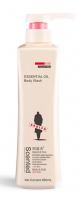essential oil shower gel