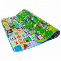 Customized color ECO-friendly XPE waterproof  baby gym play mat mat