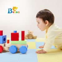 Antibacterial jigsaw Puzzle Mat for kids 45cm*45cm*2cm Anyti-slip Playmats