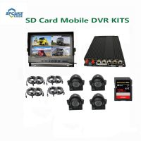 4CH 2*256g SD Card  Mdvr with GPS 3G 4G WiFi