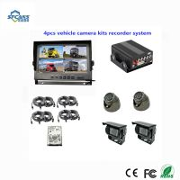 720p 4 Channel HDD Mdvr for Vehicles Car Bus with GPS 3G 4G WiFi