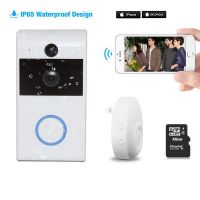 2.4GHz WiFi Video Doorbell 720p HD for Home Security