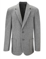 Wool Boy Blazer Zip Entry
