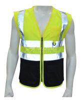 2-Tone Hi Viz Work Vest