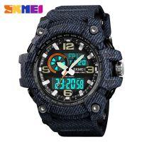 New Skmei 1283 Hot mens  Dual time watch waterproof  jam tangan sports digital watch