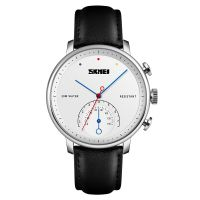 Newest watches Skmei 1399 Build Your Own Brand leather Dial Men Watch 3ATM Water Resistant  men quartz watch 2018