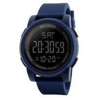 Hot SKMEI 1257  cheap wholesale Men Sports Watches Double Time Countdown Military Watch 50M Waterproof Digital