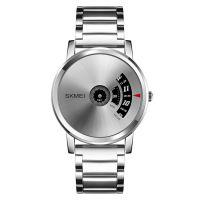 Skmei 1260 japan mov't quartz watch 3 atm water resist fashion watch stainless steel back watch Wholesale joker brand men watch