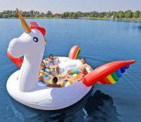 Popular floating inflatable unicorn, inflatable unicorn pool float toys