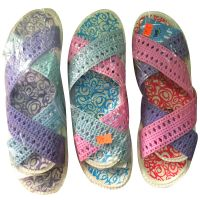 Women's slipper, three colours