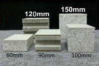 Prefabricated house sandwich wall panels eps foam cement board