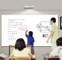 interactive whiteboard with 10 points for study and meeting