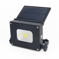 led solar lamp portable 3 in 1 Mini Pocket work camping lamp 10W rechargeable solar led floodlight with Power bank/Magnet