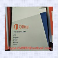 Office 2013 Pro Plus/office 2013 Home 32/64 Bit OEM Sticker, DVD Packaging