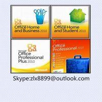 Office 2010 Pro Plus/office 2010 Home 32/64 Bit OEM Sticker, DVD Packaging
