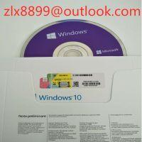 Windows 10 Pro/Windows 10 Home 32/64 Bit OEM Sticker, DVD Packaging Italian