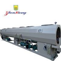 Large diamter HDPE pipe making machine