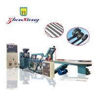 Automatic magnetic strip extrusion line