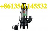 1.1kW1.5HP double-knife cutting pump