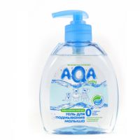 AQA baby Gel for intimate washing and cream for babies