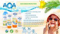 AQA baby sun protection cosmetic