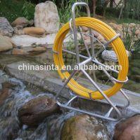 Fiberglass push pull cable rod,fiber snake rod