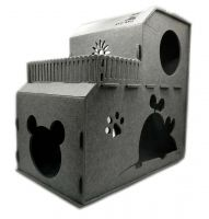 New Arrival-Felt pet nest, Pumpkin cat cave dog house