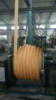 Polypropylene mooring rope