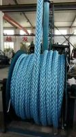 Polypropylene and Polyester mix fiber mooring rope
