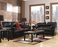 Signature Design By Ashley Commando Sofa, Black