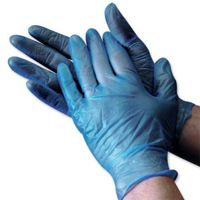 Sterile disposable latex surgical gloves