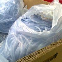 PVC medical tubes and bags scrap