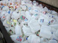 HDPE Milk Bottle Scrap/HDPE Milk Bottle Flakes/HDPE Milk Bottle Regrind
