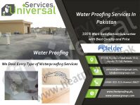 Waterproofing services for home in Karachi, Pakistan