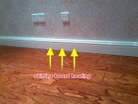 Advanced Technology Indoor Freestanding Skirting Board Heater