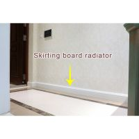 Two Waterways Ultra-Thin Household Skirting Board Radiator