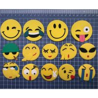 soft Pvc smile face fridge magnet cute cartoon home and garden decoration for gift