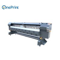 3.2m Konica KM512i/30pl Solvent Printer For Outdoor Advertisement