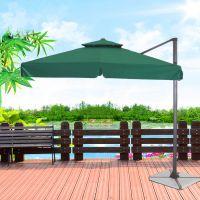 Factory direct selling outdoor square double top of Rome garden rain luxury beach umbrella