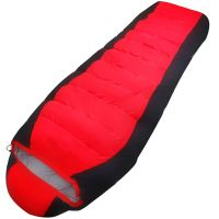 Outdoor Camping duck down SLEEPING BAG mummy SLEEPING BAG Compact single sleeping bag
