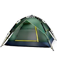 Automatic Quick-Opening Double Rain-proof Tent for Camping and Hiking