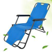 Popular wholesale custom durable outdoor fishing camping folding reclining beach chair
