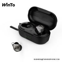 F8 IPX6 Waterproof Bluetooth Earbuds, 6H non-stop play Handsfree bass stereo headphone