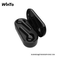 JS18 IPX4 sweatproof wireless earbuds, touch function, 3D stereo quality sound, touch bluetooth mini TWS headset