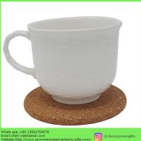 Custom logo printing cheap promotional price wholesale cork coasters