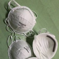 Ready to Ship In Stock EN149:2001+A1:2009 approved FFP2 disposable respirator anti dust face mask