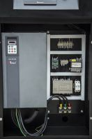 Industrial machinery screw air compressor variable speed drive